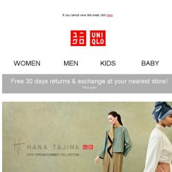 [UNIQLO Singapore] TGIF: A NEW Collection & MANY Limited Offers!