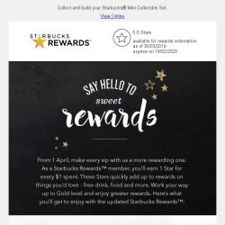 [Starbucks] Your sips just got more rewarding