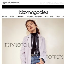 [Bloomingdales] Lightweight jackets to top off every spring look