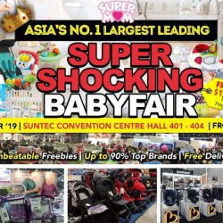 SuperMom Baby Fair: Asia's No. 1 Largest Leading Baby Fair Is Back in Singapore with Up to 90% OFF Baby Products!