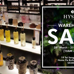 Hysses: Warehouse Sale 2019 with Up to 70% OFF Burners, Diffusers, Home Scents, Body Products & More!