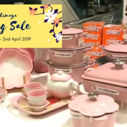 Takashimaya: Le Creuset Spring Sale with Up to 65% OFF Cookware
