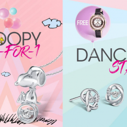 SK Jewellery: Anniversary Sale with 1-for-1 Snoopy Collection Accessory & More!