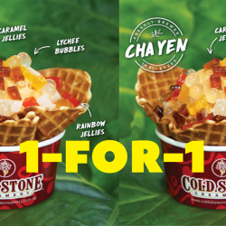Cold Stone Creamery: Enjoy 1-for-1 Thai Milk Tea Ice Cream at Orchard Central Outlet Before It Closes!