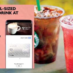 Starbucks: Enjoy Any Tall-Sized Drink at only S$2 with UOB Cards via Samsung Pay!