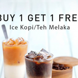Toast Box: Flash Image to Enjoy Buy 1 Get 1 FREE Ice Kopi/Teh Melaka!