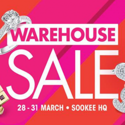 SK Jewellery: Warehouse Sale with Buy 1 Get 1 FREE on Solitaires, Wedding Bands, Snoopy Jewellery & Other Deals!