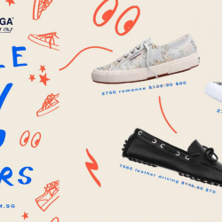 Superga Singapore: Online Flash Sale with Up to 70% OFF Selected Shoes!
