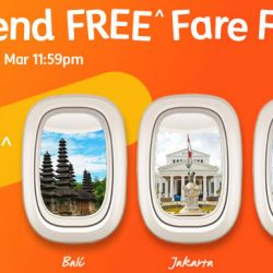 Jetstar: Weekend FREE Fare Frenzy with S$0 Base Fares to Bali, Jakarta, Siem Reap, Sanya & More!