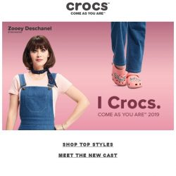 [Crocs Singapore] COME AS YOU ARE™🌟 Meet our New Global Casts!