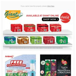 [Giant] @gmail.com 🔑 Unlock Your Happiness with Coca Cola & Anlene! 😻