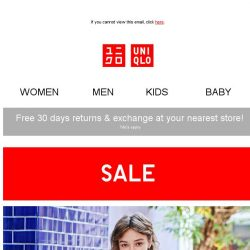 [UNIQLO Singapore] GET MORE FOR LESS!