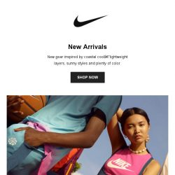 [Nike] The Hottest New Arrivals