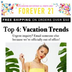 [FOREVER 21] 🌴THE VACATION EDIT 🌴
