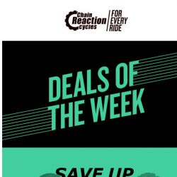 [Chain Reaction Cycles] Hump Day Deals! ➡