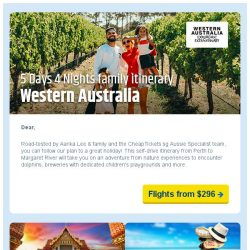[cheaptickets.sg] The best family holiday destination starts from $296