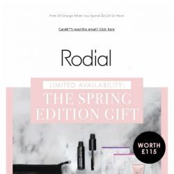 [RODIAL] IT'S HERE: The Spring Beauty Gift ✨