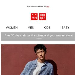 [UNIQLO Singapore] Going on now... SALE!