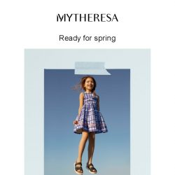 [mytheresa] Kids' spring-ready looks + Limited time free shipping