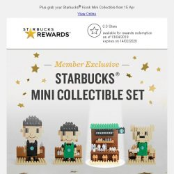 [Starbucks] New accessories and your favorite Stojo collapsible cups are back