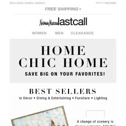 [Last Call] Home Chic Home: best selling favorites @ LastCall.com