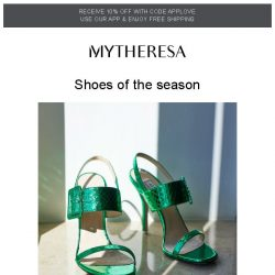 [mytheresa] Step into spring with our shoe edit
