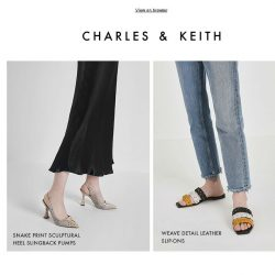 [Charles & Keith] Step Out In All Things New