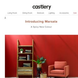 [Castlery] A Spicy New Colour…