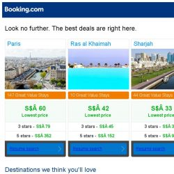 [Booking.com] Paris, Ras al Khaimah, or Sharjah? Get great deals, wherever you want to go