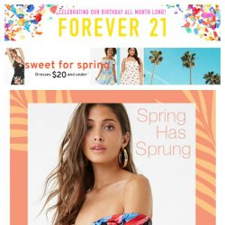[FOREVER 21] you're totally worth this