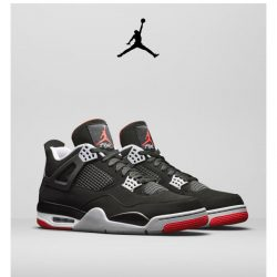 [Nike] Get it First: Jordan 4 'Bred'