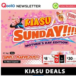 [Qoo10] KIASU SUNDAY - Mother's Day Edition! Bird's Nest For Your Mother At $21.90!