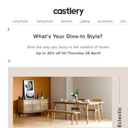 [Castlery] What's Your Dine-In Style?
