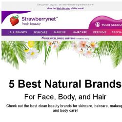 [StrawberryNet] 5 Natural Brands Proving Clean Beauty RULES