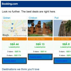 [Booking.com] Prices in Qishan dropped again – act now and save more!
