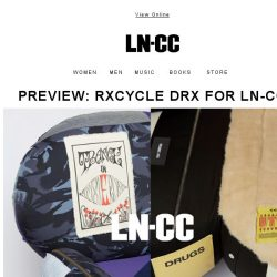 [LN-CC] Earth Day: The Upcycling Edit / Preview RxCycle / Brands Rethinking the Future of Fashion
