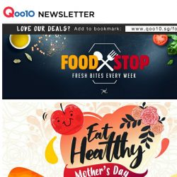 [Qoo10] Show Your Love Through Food! Cook this Mother's Day - Grab $27.90 Ichiran Ramen, Bird's Nest and More!