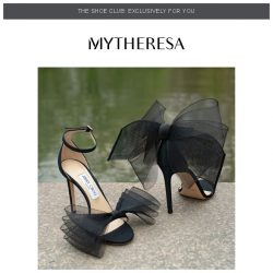 [mytheresa] 👠Shoe Club exclusive: Jimmy Choo's new collection