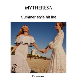 [mytheresa] Chasing the sun? Count on our summer edit