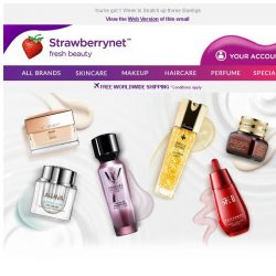 [StrawberryNet] Enjoy 10% Off Your Skincare Items