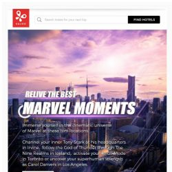 [Kaligo] , prepare yourself for the Endgame with these marvel-lous destinations