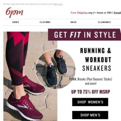 [6pm] Up To 75% Off: PUMA, Oakley & More!