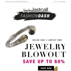 [Last Call] JEWELRY BLOWOUT up to 60% off