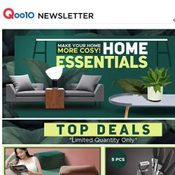 [Qoo10] Best Home & Living Deals For the Week! New In Every Thursday