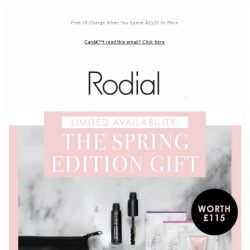 [RODIAL] It's Back | The Spring Beauty Gift ✨