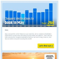 [cheaptickets.sg] ✈ The cheapest destinations to book in May 2019