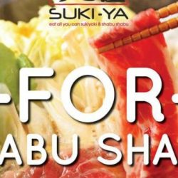 Suki-Ya: Enjoy 1-for-1 Shabu Shabu at Tampines Mall!