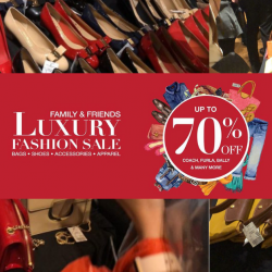 The Fashion Gallery: Luxury Fashion Family & Friends Sale with Up to 70% OFF Coach, Furla, Bally & More!