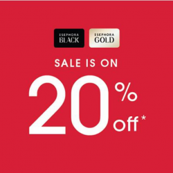 Sephora: Gold & Black Members Enjoy 20% OFF EVERYTHING Online, In-App & In Stores!