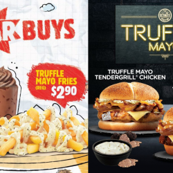 Burger King: NEW Truffle Mayo Tendergrill Chicken Burger, Angus Beef Burger & Fries!